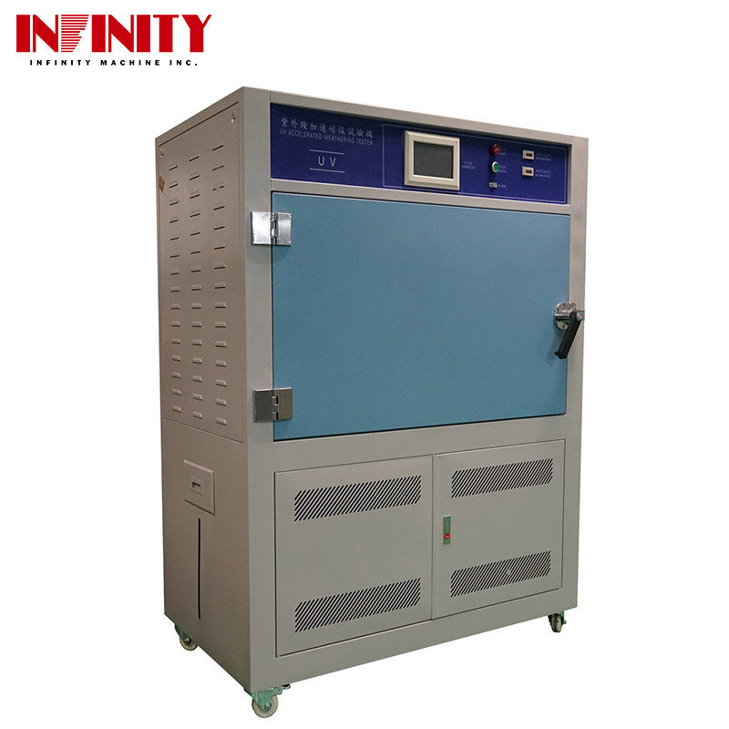 500 L UV Test Chamber Aging Lamps For Temperature Shining Strength Humidity