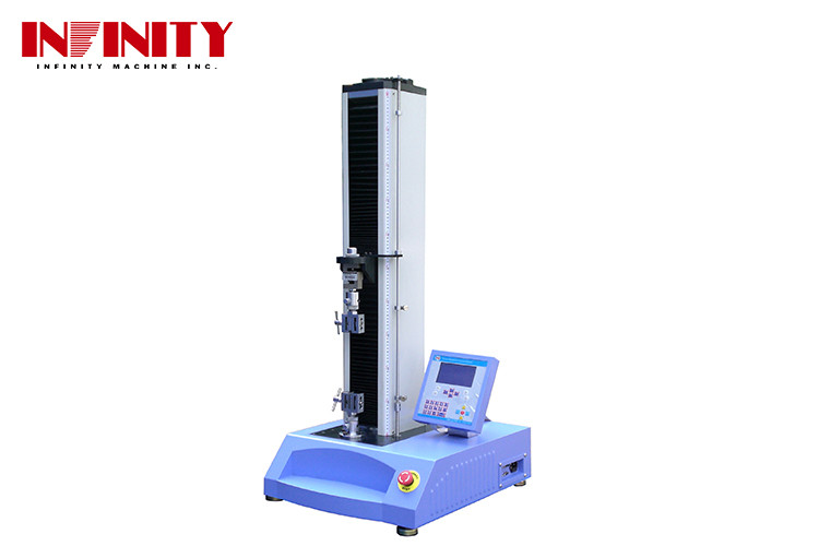 Single Style Electronic Universal Testing Machine , Plastic Tensile Strength Testing Machine